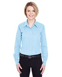 Ultraclub 8355L Women Easycare Broadcloth