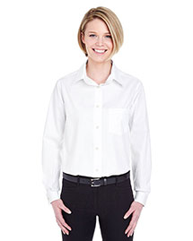 Ultraclub 8361 Women Longsleeve Performance Pinpoint
