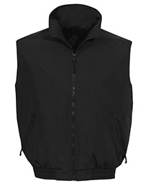 Tri-Mountain 8400 Men Big And Tall   Nylon Vest With Fleece Lining