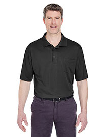 Ultraclub 8405P Men Cool & Dry Mesh Sport Polo With Pocket