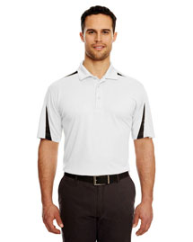 UltraClub 8408 Men Mesh Block Polo