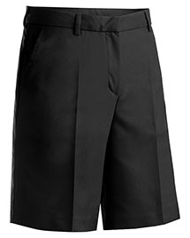 Edwards 8422ED Women's Microfiber Flat Front Shorts at bigntallapparel