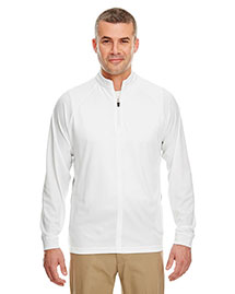 UltraClub 8432 Men Cool & Dry Long Sleeve 1/4 Zip