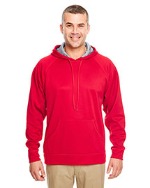 Ultraclub 8441 Men Poly Fleece Hood