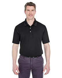 UltraClub 8445 Men's Cool & Dry StainRelease Performance Polo at bigntallapparel