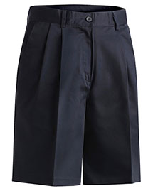 Edwards 8467 Women Utility Pleated Short 9/9.5 Inches Inseam at bigntallapparel