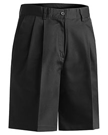 Edwards 8467 Women's Utility Pleated Short 9/9.5 Inches Inseam at bigntallapparel