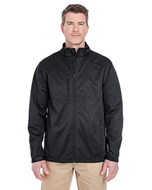 Ultraclub 8477 Men Softshell Solid at bigntallapparel