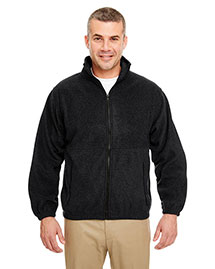 Ultraclub 8485 Men Iceberg Fleece Fullzip Jacket