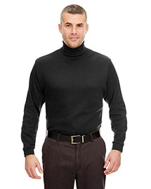 Ultraclub 8516 Men Interlock Turtleneck