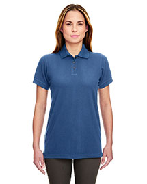 UltraClub 8530 Ladies' Classic Piqué Polo at bigntallapparel