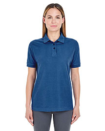 UltraClub 8541 Ladies' Whisper Piqué Polo at bigntallapparel