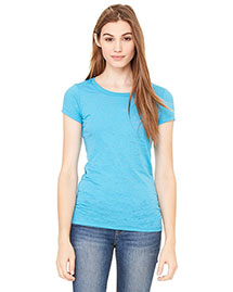 Bella 8601 Women Burnout Short-Sleeve T-Shirt