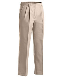 Edwards 8619 Women Business Casual Pleate Pant at bigntallapparel