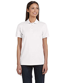 Anvil 8680A Ladies' Ringspun Piqué Polo at bigntallapparel