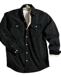 Tri-Mountain 869 Big And Tall Mens  Denim Shirt Jacket With Fleece Lining at bigntallapparel