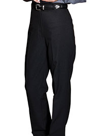 Edwards 8796 Women WoPolyester Casino Flat Front Pant No Pocket