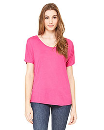 Bella 8816 Women Flowy Simple T-Shirt