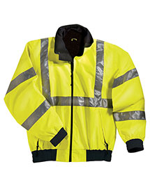 Tri-Mountain 8830 Big And Tall Mens Ansi Compliant Safety Work Jacket With Reflective Tape at bigntallapparel