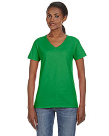 Anvil 88VL Women Ringspun V-Neck T-Shirt