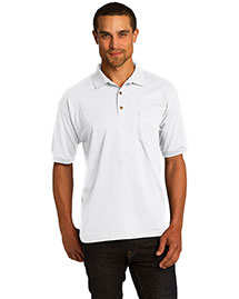 Gildan 8900 Men  Dryblend? 5.6 Ounce Jersey Knit Sport Shirt With Pocket at bigntallapparel