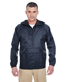UltraClub 8925 Packaway Jacket at bigntallapparel
