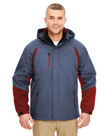 Ultraclub 8939 Men Threeinone Color Block Systems Jacket