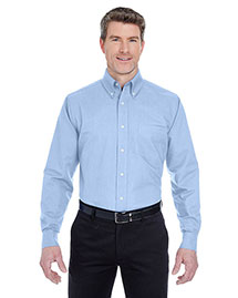 UltraClub 8970T Men Tall Classic Wrinklefree Longsleeve Oxford