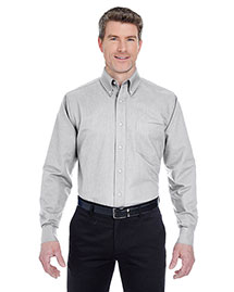 UltraClub 8970T Men's Tall Classic WrinkleFree LongSleeve Oxford at bigntallapparel