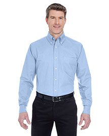 UltraClub 8970 Men Classic Wrinklefree Longsleeve Oxford