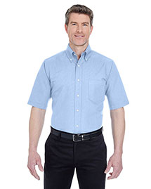 UltraClub 8972 Men Classic Wrinklefree Shortsleeve Oxford