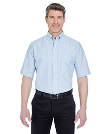 UltraClub 8972 Men's Classic WrinkleFree ShortSleeve Oxford at bigntallapparel