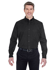 Ultraclub 8975T Men Tall Whisper Twill Shirt