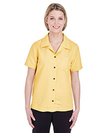 UltraClub 8981 Women WoCabana Breeze Camp Shirt