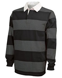 Charles River Apparel 9278  Classic Rugby Shirt at bigntallapparel