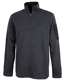 Charles River Apparel 9312 Men Heathered Fleece Pullover at bigntallapparel