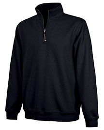 Charles River Apparel 9359 Men Crosswind Quarter Zip Sweatshirt
