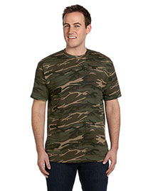 Anvil 939 Men 4.9 Oz., 100% Ringspun Cotton Camouflage T-Shirt at bigntallapparel