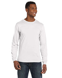 Anvil 949 Men 4.5  Oz. Ringspun Cotton Fashion Fit Long-Sleeve T-Shirt