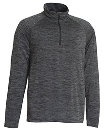 Charles River Apparel 9763 Men Space Dye Performance Pullover