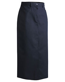 Edwards 9779 Women Chino Skirt  Long 35 at bigntallapparel
