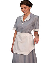 Edwards 9895 Women Cord Housekeeping Dress at bigntallapparel