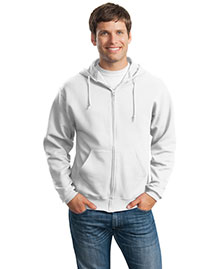 Jerzees 993M Men Full Zip Sweatshirt Hoodie