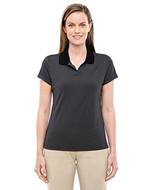 Adidas A120 Women Climalite Classic Stripe Short-Sleeve Polo