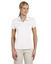 Adidas A122 Ladies' Climalite® Short-Sleeve Piqué Polo at bigntallapparel