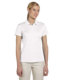 Adidas A131 Ladies' Climalite® Piqué Short-Sleeve Polo at bigntallapparel