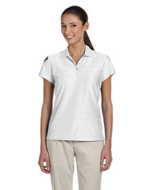 Adidas A135ALP Ladies' Climacool® Mesh Polo at bigntallapparel