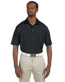 Adidas A160 Men's Climalite® Pencil Stripe Polo at bigntallapparel