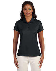 Adidas A181 Ladies' Climacool® Diagonal Textured Polo at bigntallapparel
