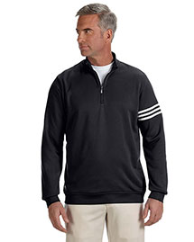 Adidas A190 Men's Climalite® 3-Stripes Pullover at bigntallapparel